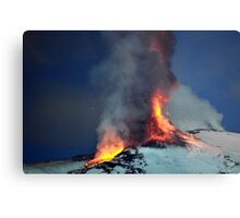 Fire on the snow. (RB EXPLORE) Metal Print