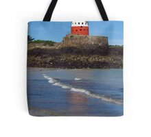 Archirondel Tower, Jersey Tote Bag