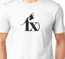 F(x) Black Unisex T-Shirt