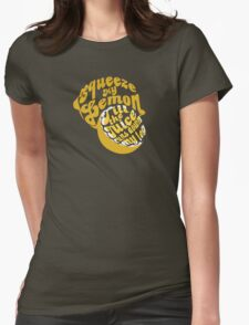 The Lemon Tee Womens Fitted T-Shirt