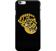 The Lemon Tee iPhone Case/Skin