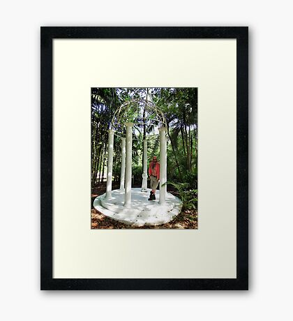 Troy - Temple In The Tropics Framed Print
