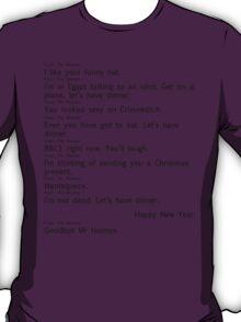 Scandal Text 2 part 2 (Black) T-Shirt