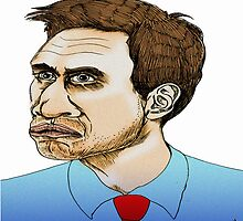 Ed Miliband Cartoon Caricature by Grant Wilson