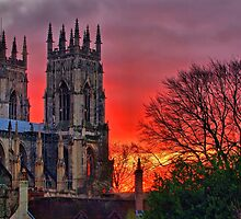 York Minster Sunset - HDR by Colin  Williams Photography