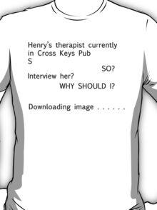 Hounds Text 3 (Black) T-Shirt