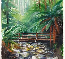 Bridge over Badgers Creek by Dai Wynn