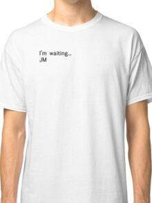 Reichenbach Text 2 (Black) Classic T-Shirt