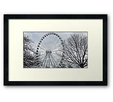 """""""  One wheel on my wagon"""" Framed Print"""