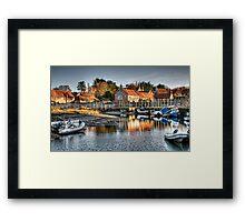 Blakeney Quay, North Norfolk coast Framed Print