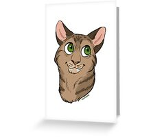 Jackie the Cat - Custom Greeting Card