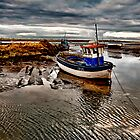 Brancaster Staithe, North Norfolk coast by mikemUK