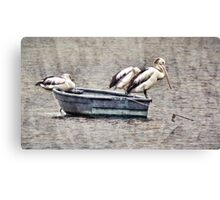 The Fishermen Three Canvas Print