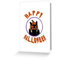 toothless wishes a happy halloween Greeting Card