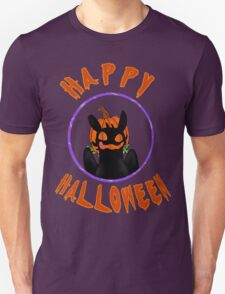 toothless wishes a happy halloween T-Shirt