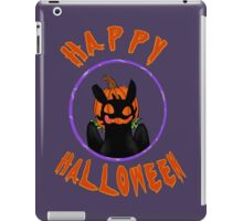 toothless wishes a happy halloween iPad Case/Skin