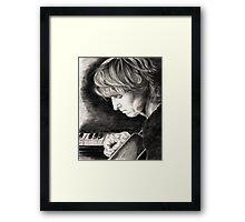 Eric Johnson Framed Print