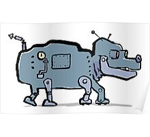 robot dog Poster