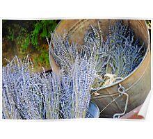Lavender Pile Poster