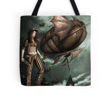 Black Ships Ate the Sky Tote Bag