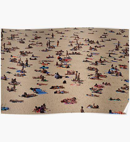 bondi summer v Poster