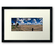 Williams Paddock Framed Print