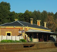 Birregurra Railway Station by Alison Murphy
