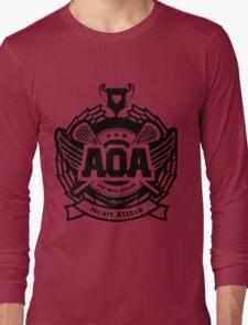 AOA Black Long Sleeve T-Shirt