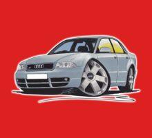 Audi S4 (B5) Silver One Piece - Short Sleeve