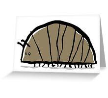 woodlouse Greeting Card