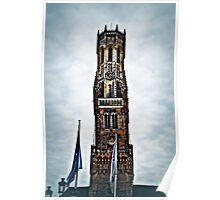 Belfort Tower Bruges Poster