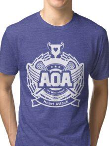 AOA White Tri-blend T-Shirt