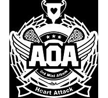 AOA White Photographic Print