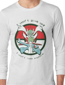 Pokémon OR/AS - Wally Speech Long Sleeve T-Shirt
