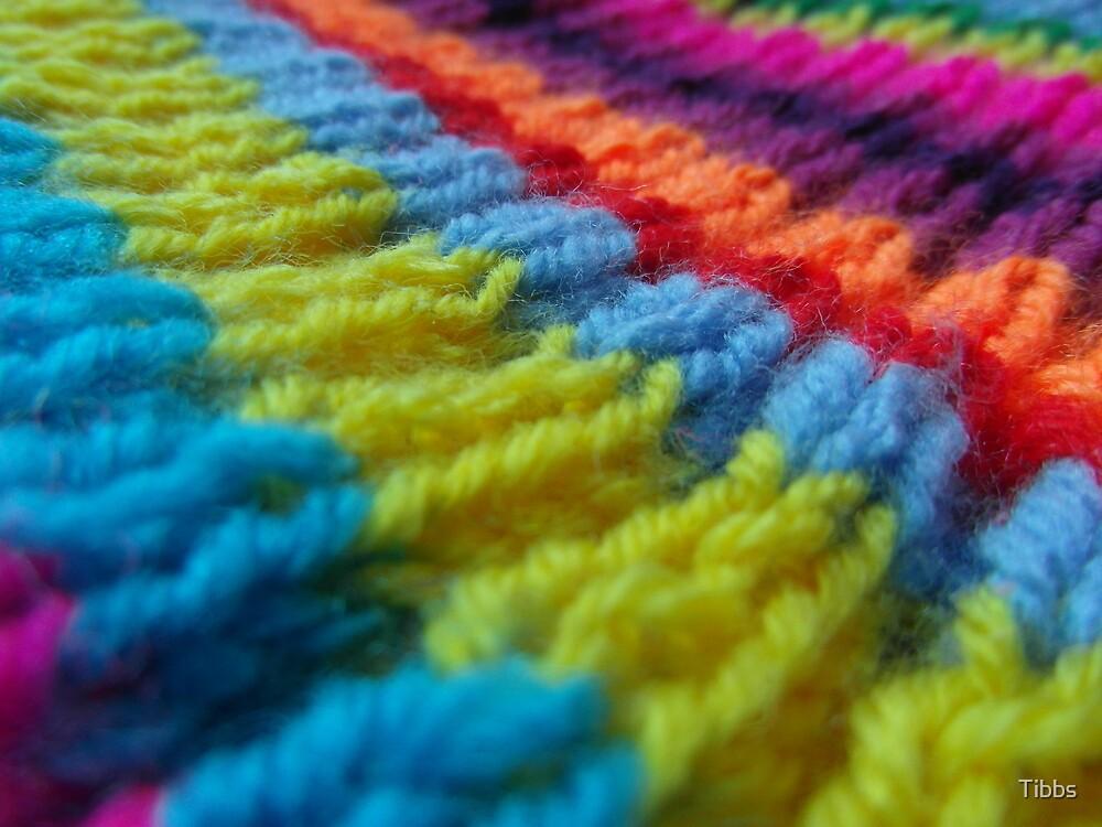 Rainbow knit by Tibbs