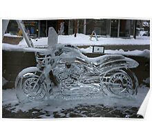 ice motorcycle Poster