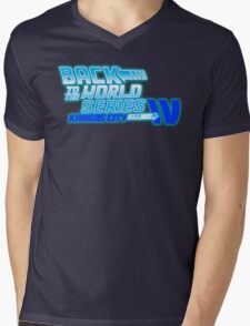 Back To The World Series!! Mens V-Neck T-Shirt