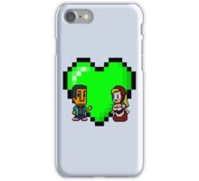 Love in 8-bit: Abed and Hilda (style A) iPhone Case/Skin