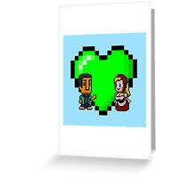 Love in 8-bit: Abed and Hilda (style A) Greeting Card