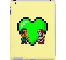 Love in 8-bit: Abed and Hilda (style A) iPad Case/Skin