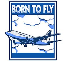 Born to Fly Photographic Print