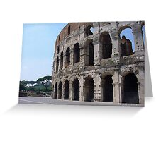 Colosseum Greeting Card