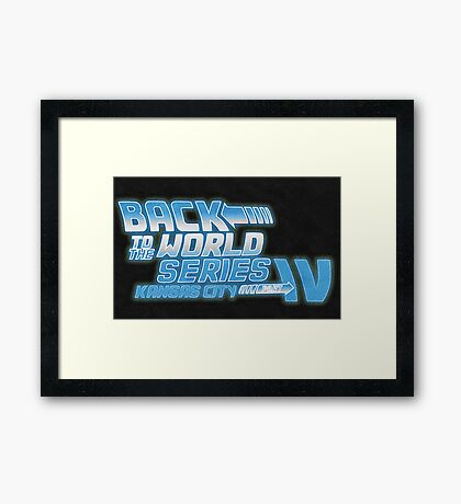 Back To The World Series!! Framed Print