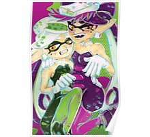 Squid Sisters Poster