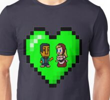 Love in 8-bit: Abed and Hilda (style B) Unisex T-Shirt