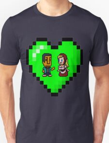 Love in 8-bit: Abed and Hilda (style B) T-Shirt