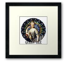 Queen of the French Framed Print