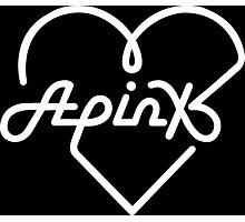 Apink White Photographic Print