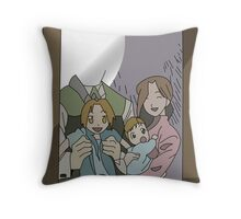 Elric family portrait Throw Pillow
