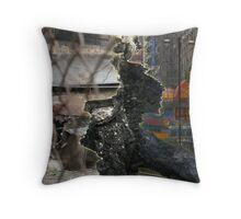 Economic Divide Throw Pillow